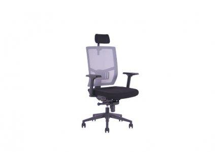 Kancelářská židle SEGO Andy šedá