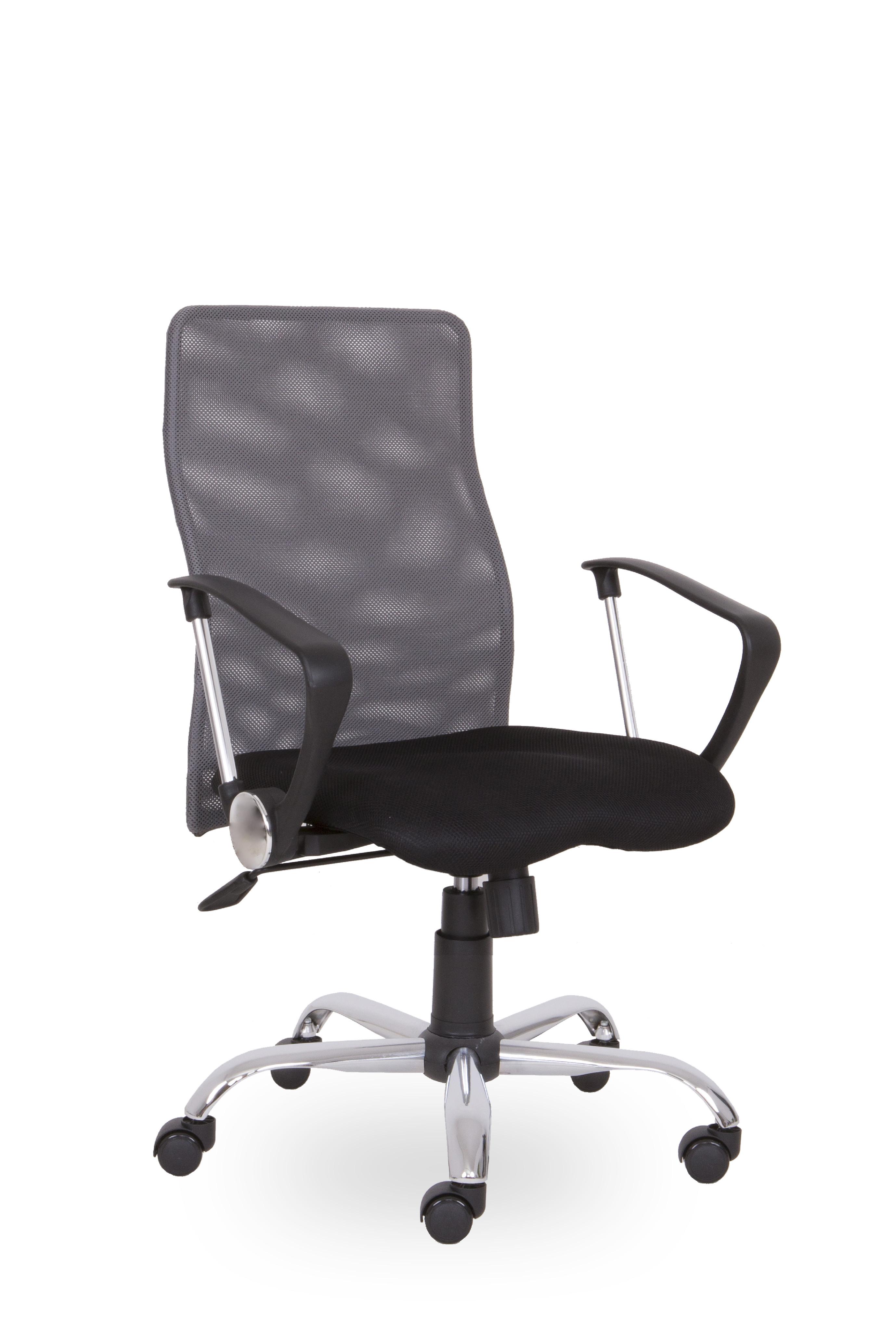 SEGO židle Kancelářská židle SEGO Roma šedá