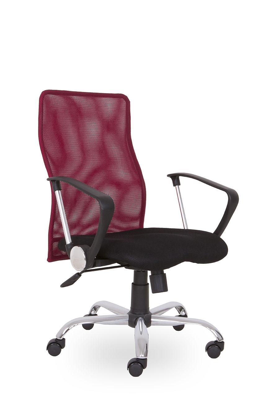 SEGO židle Kancelářská židle SEGO Roma vínová