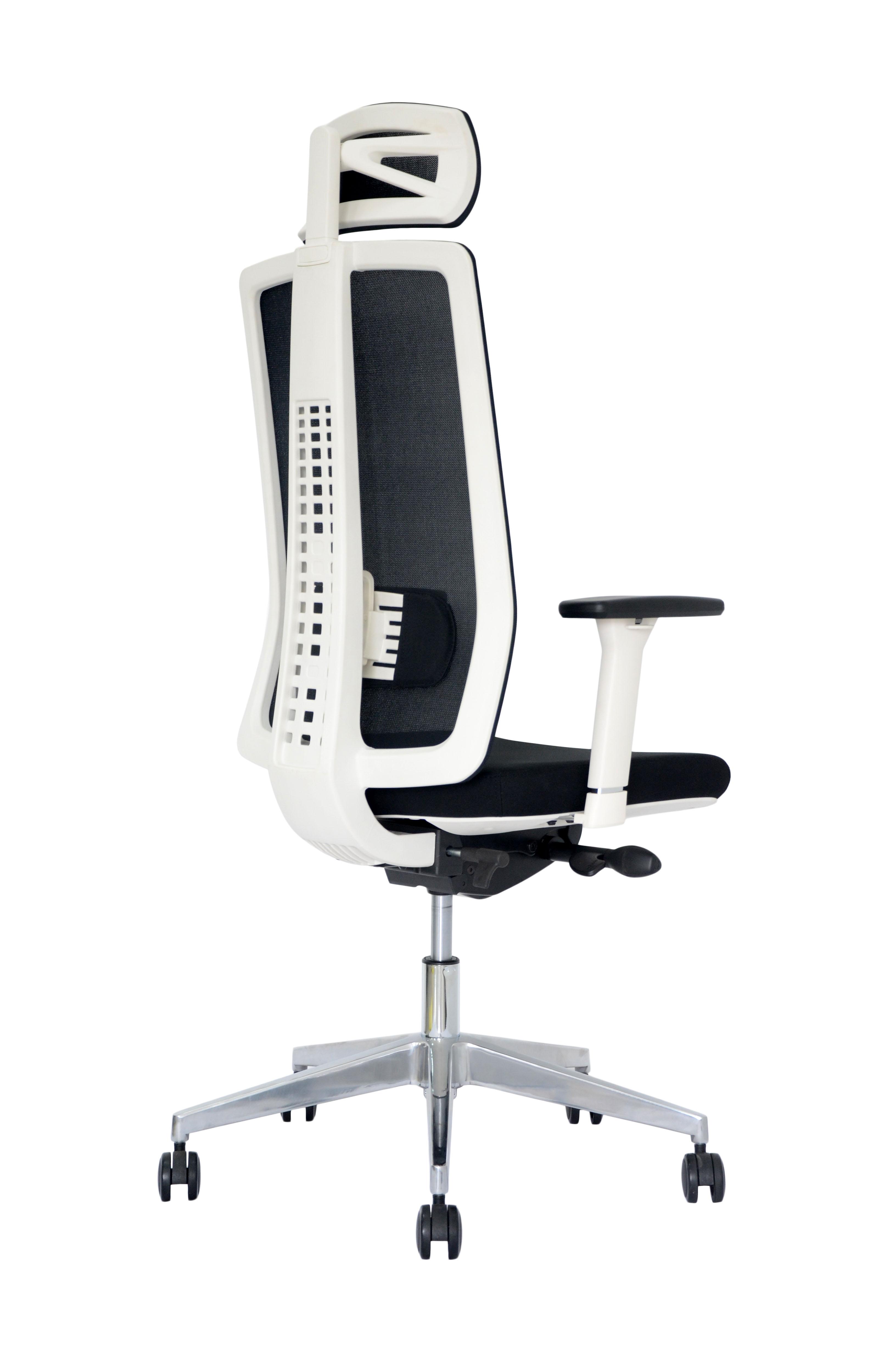 SEGO židle Kancelářská židle SEGO Spirit bílá