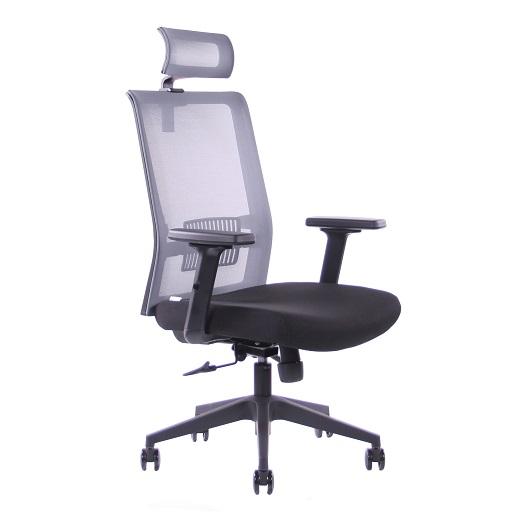 SEGO židle Kancelářská židle SEGO Pixel šedá