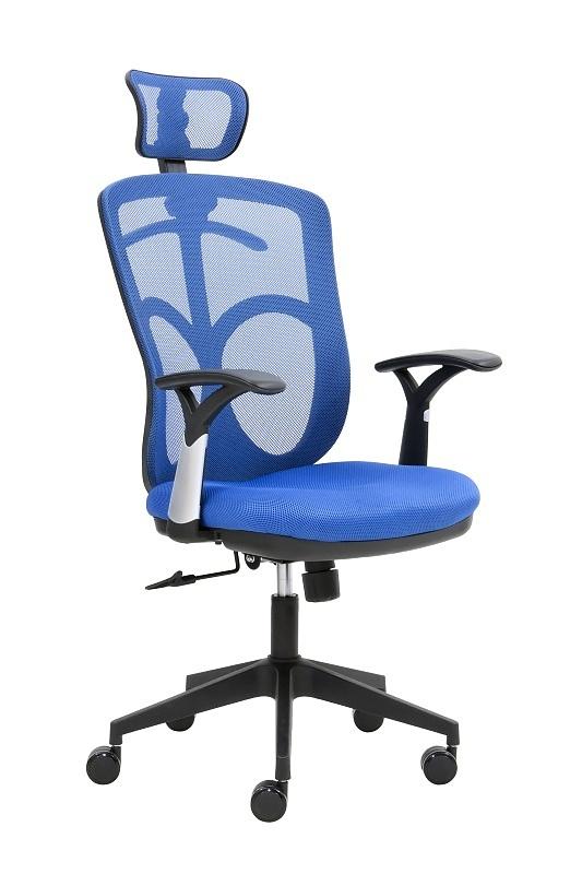 SEGO židle Kancelářská židle SEGO Marki modrá