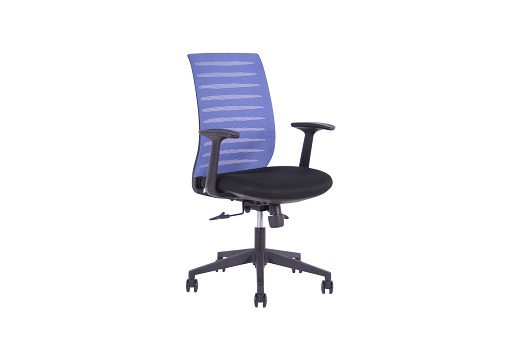 SEGO židle Kancelářská židle SEGO Strip modrá