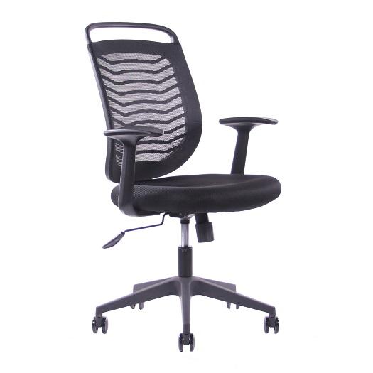 SEGO židle Kancelářská židle SEGO Jell černá