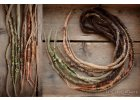 hippie boho wild summer dreads barevne fakedready