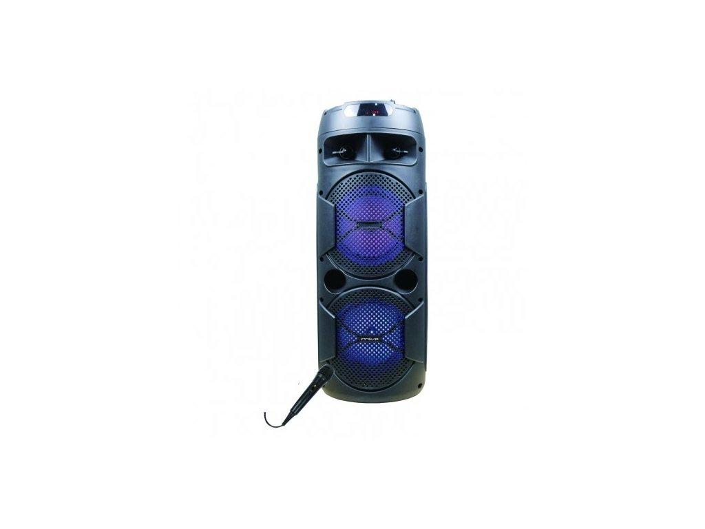 2129618 bluetooth reproduktor s mikrofonom na karaoke innova alt ch 6604 20w cierna