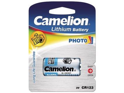 1287068 bateria camelion lithium cr123a bp1 3v