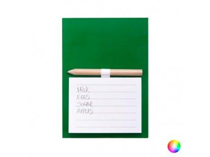 Poznámkový blok s magnetem (40 Listů) 144582 (Barva Žlutá)
