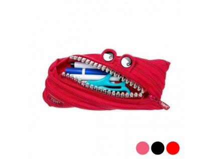 Školní pouzdro Nikidom Grillz Monster Puch Clip Strip (Barva Ružová)