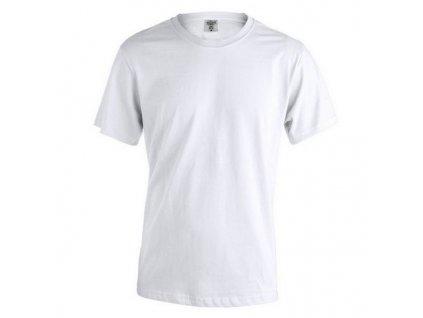 Unisex tričko s krátkým rukávem Bílá 145856 (Velikost L)