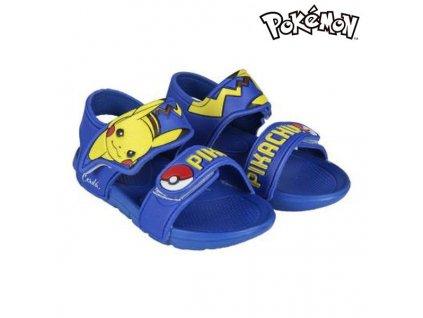 Plážové sandály Pokemon 73050 Modrá (Velikost nohy 25)