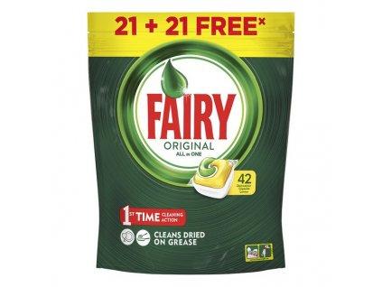 1575110 tablety do umyvacky lemon fairy 42 ks