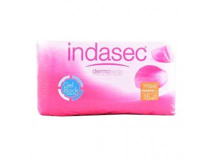 Inkontinence Sanitární podložka Discreet Maxi Indasec (Množství 15 Jednotky)
