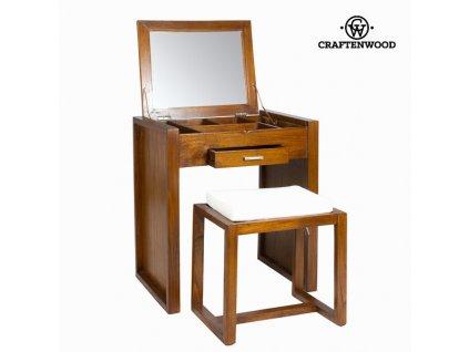 1584635 toaletny stolik s stolickou let s deco kolekcia by craftenwood
