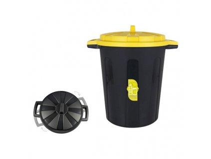 Odpadkový koš na recyklaci (o 44,5 x 55,7 x 59,8 cm) (Barva Zelená)