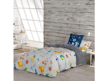 Povlečení Nordic Cool Kids Berto A (90 cm postel) (Rozměry Rozmery: Jednolôžková posteľ (150  x 220 + 45 cm))