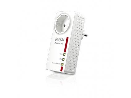 1602926 adapter plc fritz 1220e lan 1200 mbps biela
