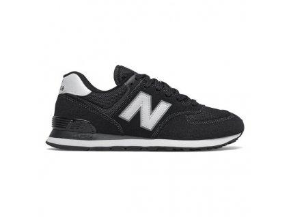 Pánské vycházkové boty New Balance Lifestyle ML574 EE2 Černá (Velikost nohy 40.5)