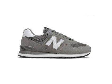 Pánské vycházkové boty New Balance Lifestyle ML574 EG2 Šedá (Velikost nohy 41.5)