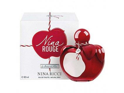 Dámský parfém Nina Rouge Nina Ricci EDT (Kapacita 80 ml)
