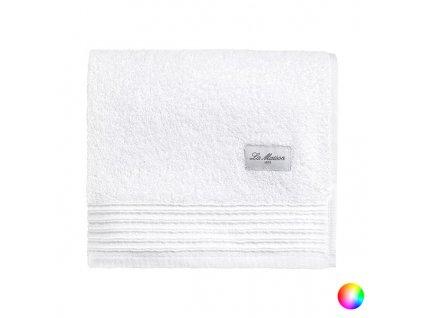 Ručník do koupelny La Maison Tevere Bavlna (50 x 90 cm) (Barva Bílá)