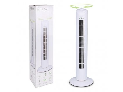 1656575 vezovy ventilator kiwi biela 45 w 81 cm
