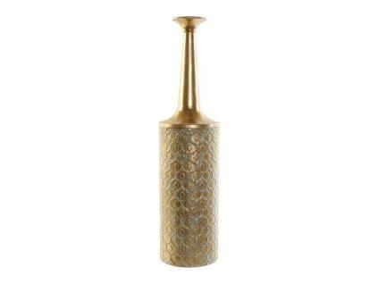 1671065 vaza dkd home decor zlata kov arab 14 5 x 14 5 x 60 cm