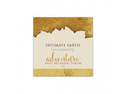 1711787 uvolnujuce analne serum adventure vo foliovom baleni 3 ml intimate earth
