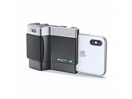 Fotodoplnok mobilního telefonu Pictar Smart Grip (Barva Černá)