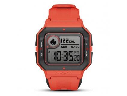 1718378 chytre hodinky amazfit neo 1 2 160 mah 5 atm cervena