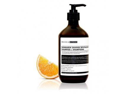 1729340 osviezujuci sampon organic botanic mandarinkovy 500 ml