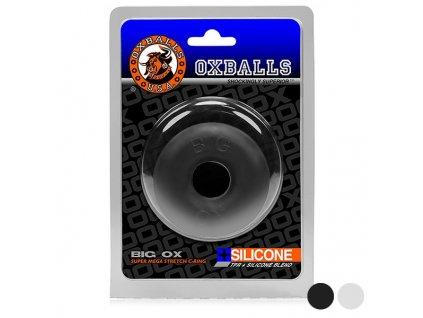 Pryžových kroužků na penis Oxballs (Barva Černá)