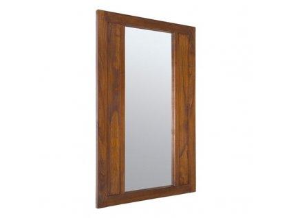 1750160 zrkadlo chocolate kolekcia forest 110 x 70 cm drevo indi