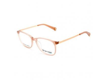 2133452 damsky ram na okuliare brendel 903110 90 ruzove zlata 43 mm