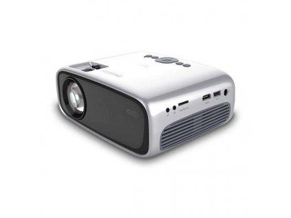 2120513 projektor philips neopyx easy npx440 led 2600 lm 2w striebristy