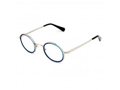 2130410 ram na okuliare harry larys academy 384 detske modra striebristy 45 mm