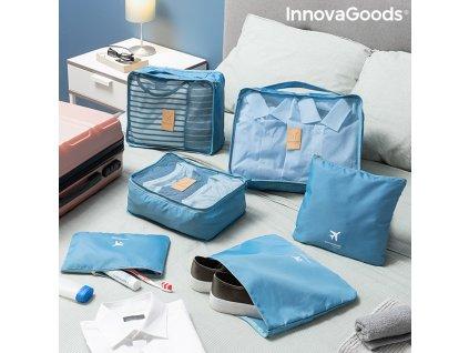 2069114 sada organizacnych tasiek do kufrov luggan innovagoods 6 kusy
