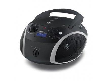 Bluetooth rádio s CD MP3 Grundig RCD 1500 (Barva Černá)