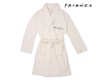 Dětský župan Friends Bílá (Velikost M)