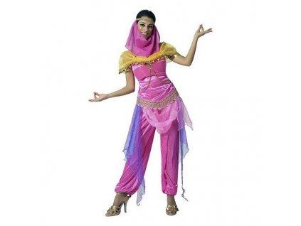 Kostým pro dospělé Arabská princezna Růžová (Velikost XS/S)