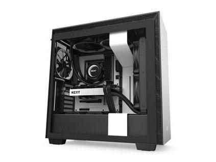 Počítačová skříň ATX / Mini ITX / ATX NZXT H710 (Barva Bílá)