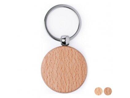 Přívěsek na klíče Dřevo 146204 (Design Kulatý)