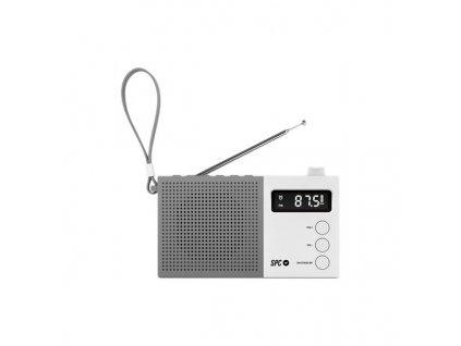 Tranzistorové rádio SPC 4578 AM / FM (Barva Bílá)