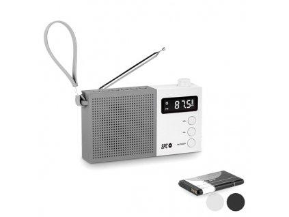 Tranzistorové rádio SPC Jetty Max 4578B AM / FM (Barva Černá)
