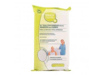 2075558 vlhcene obrusky na intimnu hygienu daily comfort 20 ks