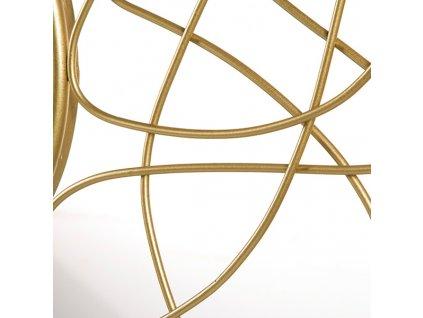 2106929 zrkadlo golden flower 100 x 3 x 100 cm