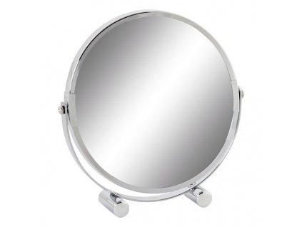 2150165 zvacsovacie zrkadielko dkd home decor kov pochromovane 18 x 4 x 18 cm