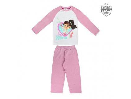Dětské pyžamo Nella 73036 Fialová (Velikost 4 roky)