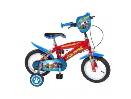 2223773 detsky bicykel the paw patrol 14 cervena modra
