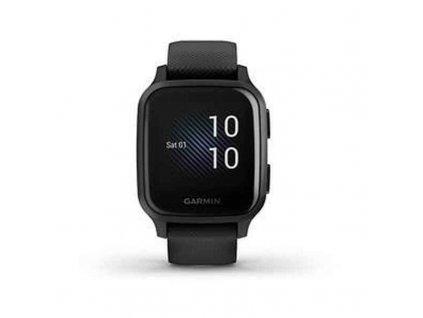 """Chytré hodinky GARMIN Venu SQ Music 1,3 """"Bluetooth WiFi (Barva Černá)"""